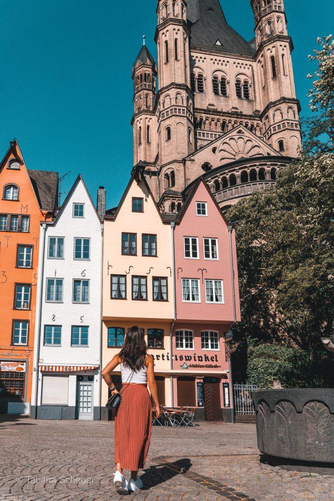 Fischmarkt in Köln | Bunte Häuser Köln | Köln Altstadt |Cologne Old Town |Groß St. Martin