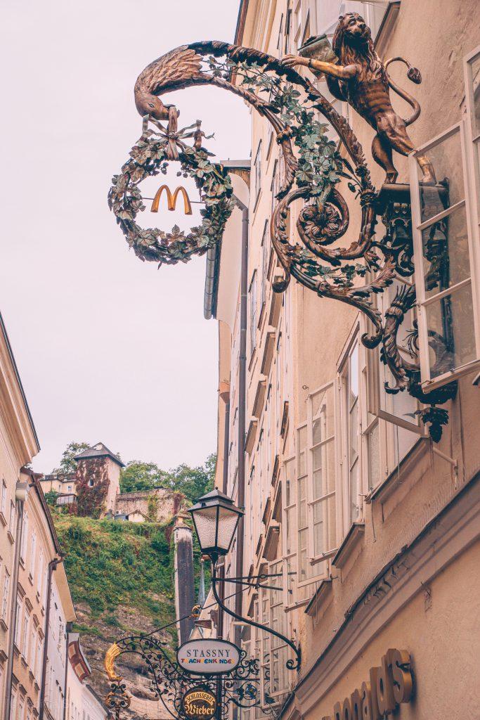 Getreidegasse Salzburg