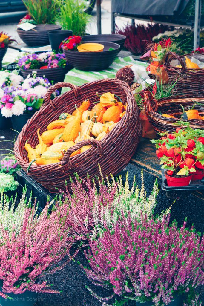 Grünmarkt in Salzburg