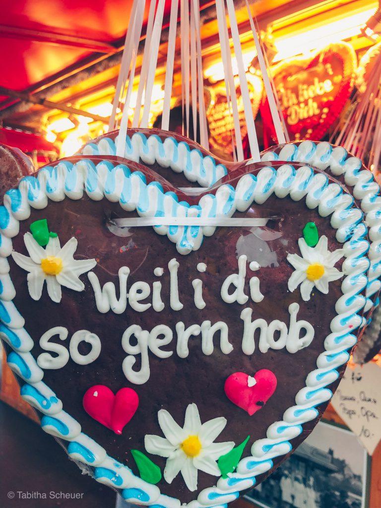 Oktoberfest Weil i di so gern hob