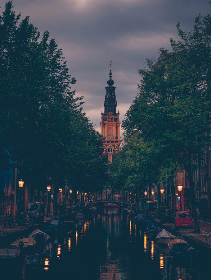 Zuiderkerk Amsterdam Sunset