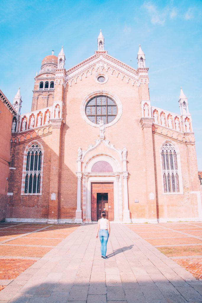 Cannaregio Church in Venice
