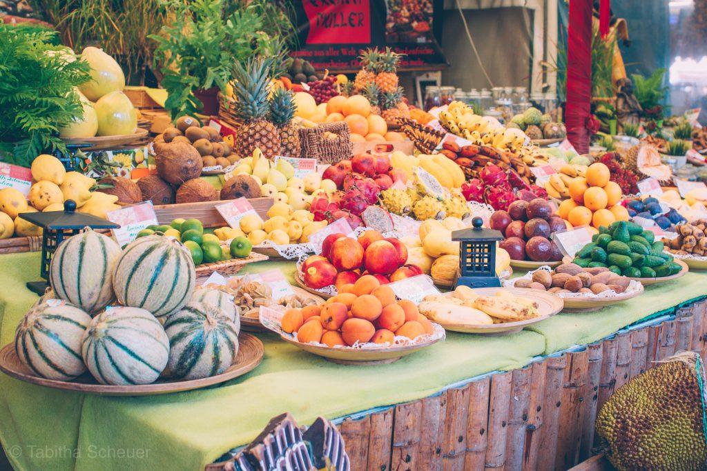 Fruits at Viktualienmarkt