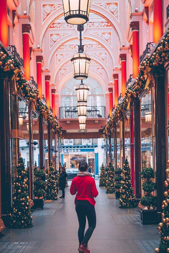 Royal Arcade at Christmas