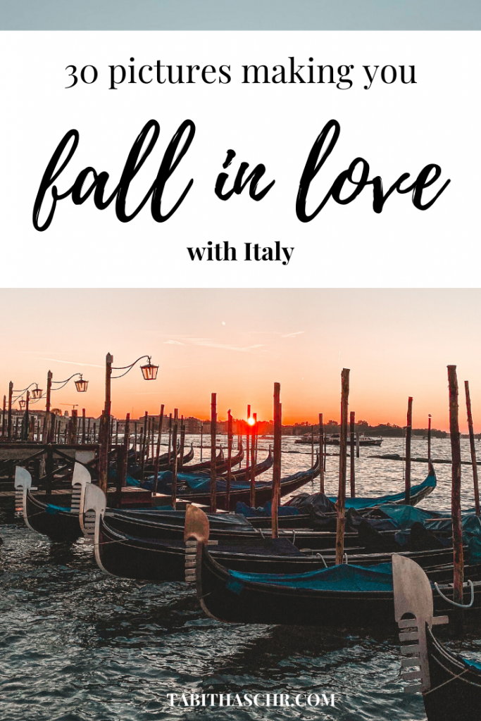 30 pictures making you fall in love with Italy
