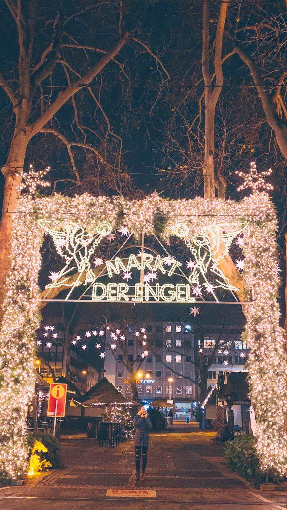 Markt der Engel main entrance