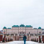 Belvedere Palace in Vienna | Winter Photo Spots in Vienna