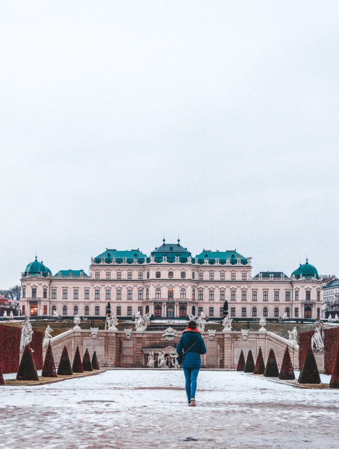 Belvedere Palace in Vienna | Winter Photo Spots in Vienna