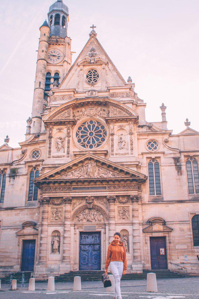 Church Saint Étienne du Mont