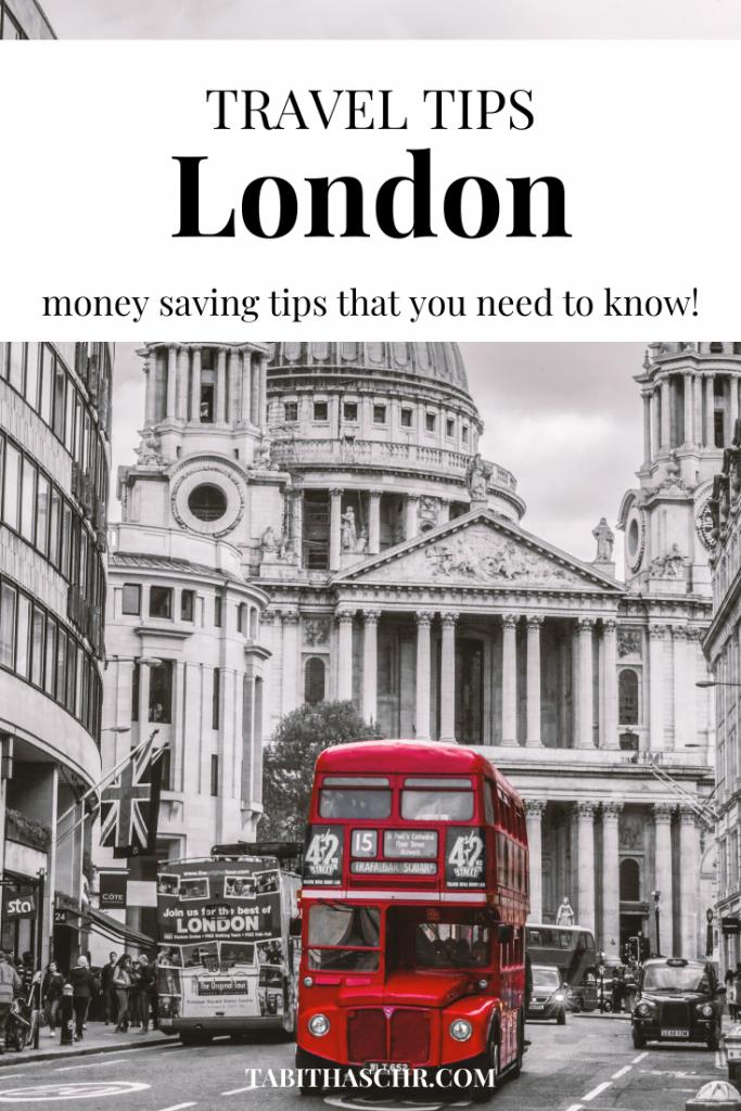 London Travel Tips |Tabitha Scheuer Travel Tips