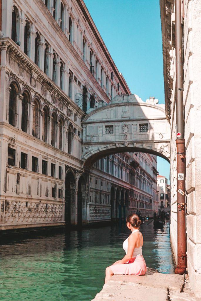 Venice Seufzerbrücke