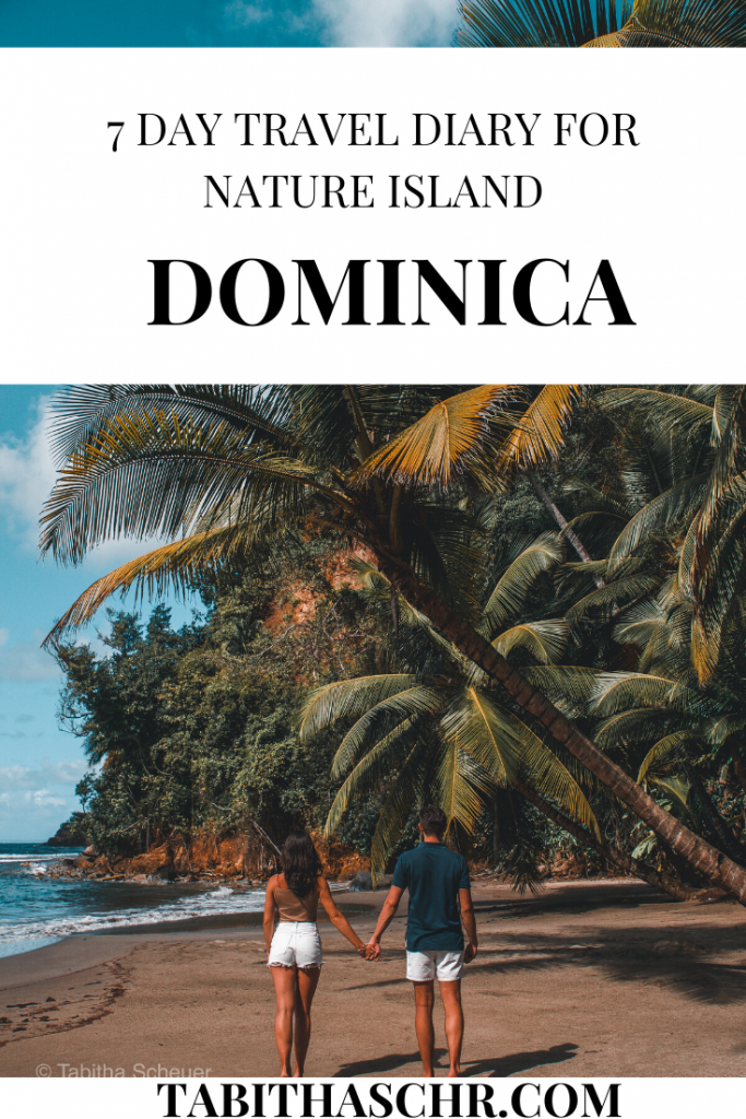 7 Day Travel Diary for Nature Island Dominica