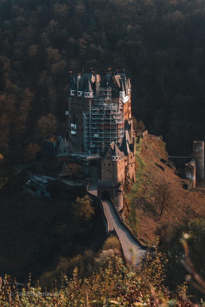 Burg Eltz from above |Burg Eltz Castle