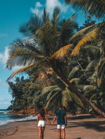 Couple at the Beach | Dominica | Caribbean