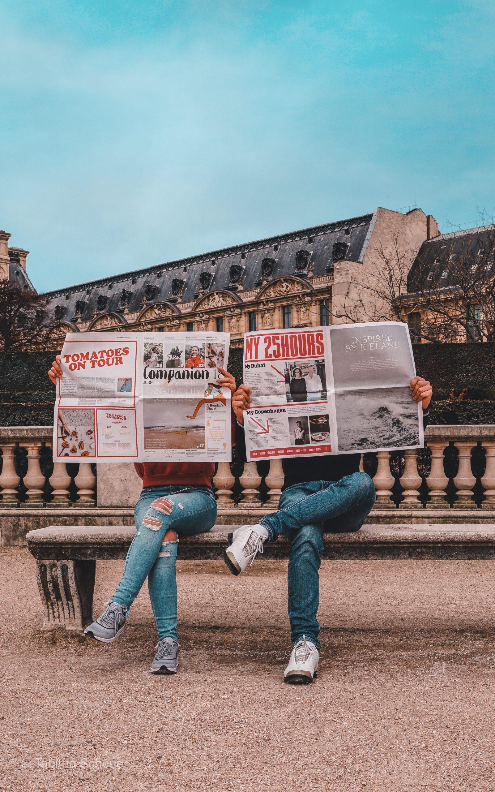 Paris Couple Photography Inspiration | 25Hours Review Hotel Paris