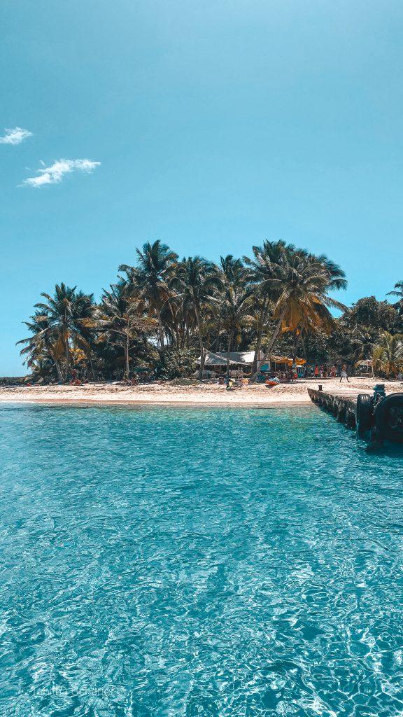 Ilet du Gosier in Guadeloupe