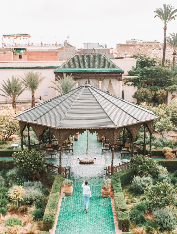 Jardin Secret in Marrakech