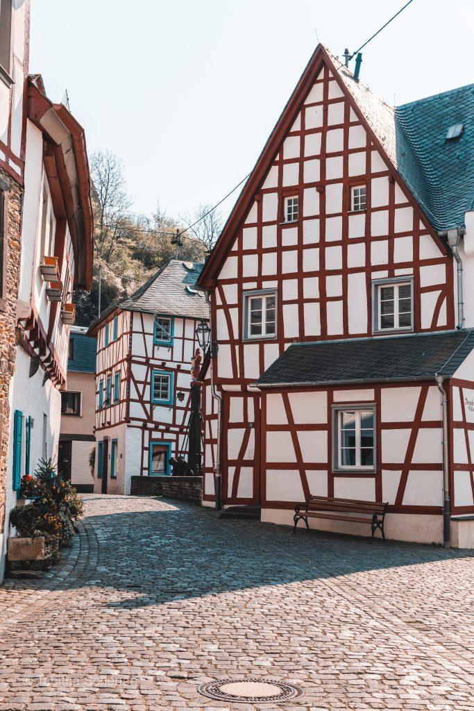 Monreal in der Eifel |Fachwerkhäuser in Monreal |Eifel Deutschland