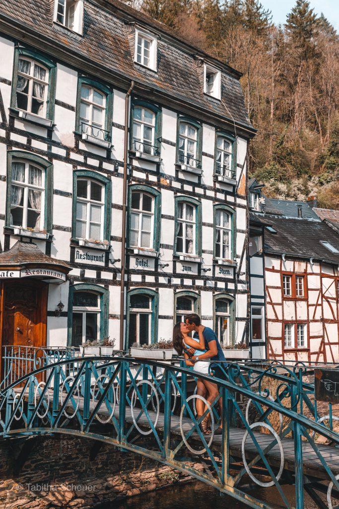 Monschau Deutschland |Eifel |Monschau |Germany | Travel Couple