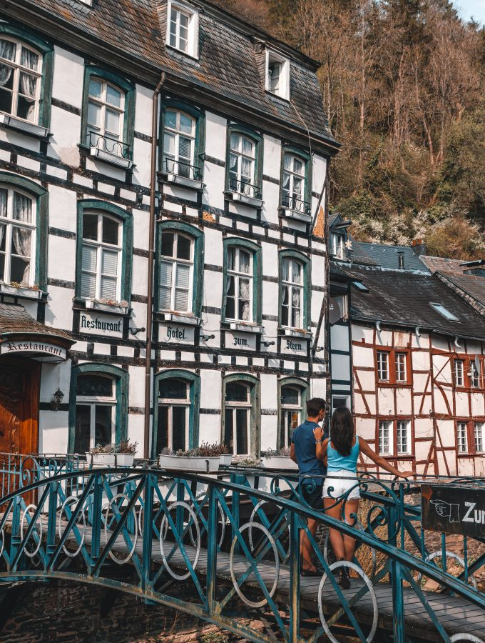 Monschau Travel Couple Bilder | Bilder Monschau