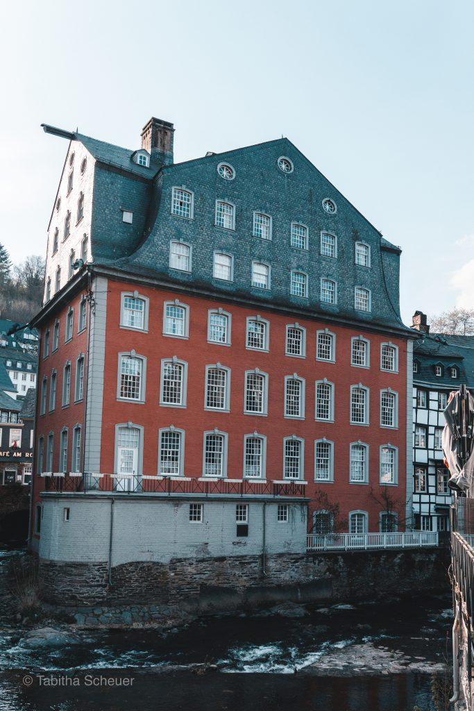 Rotes Haus in Monschau |Monschau Germany