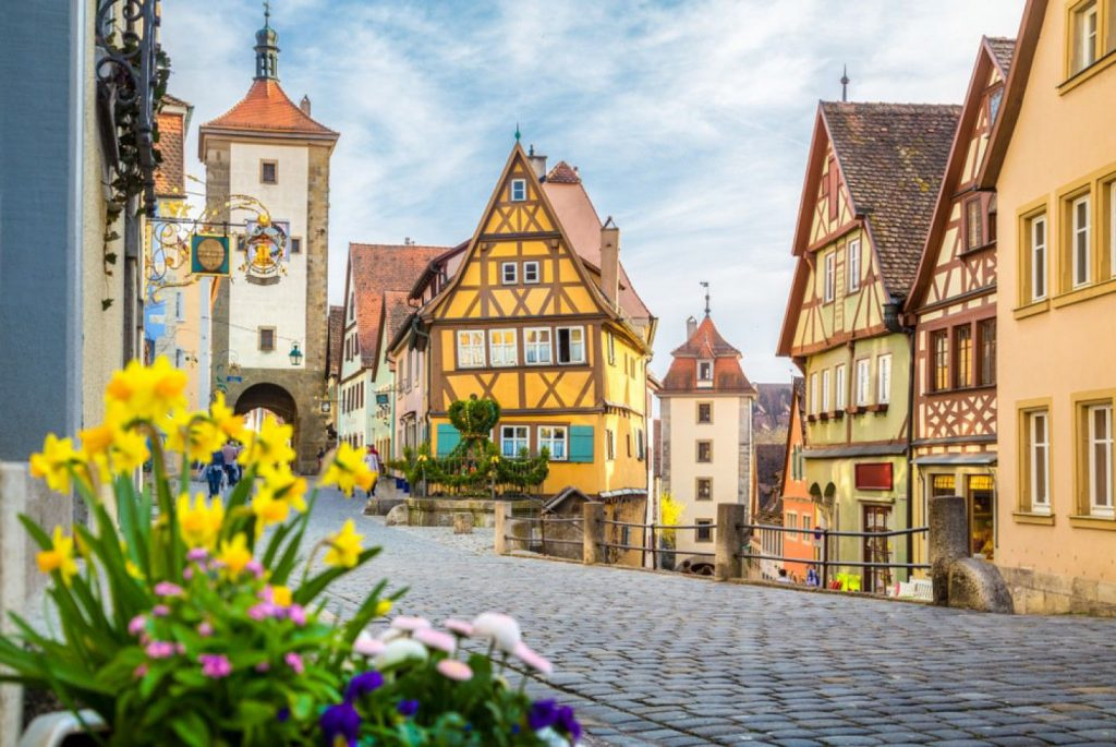 Rothenburg ob der Tauber in Germany | Fairytale Villages in Germany
