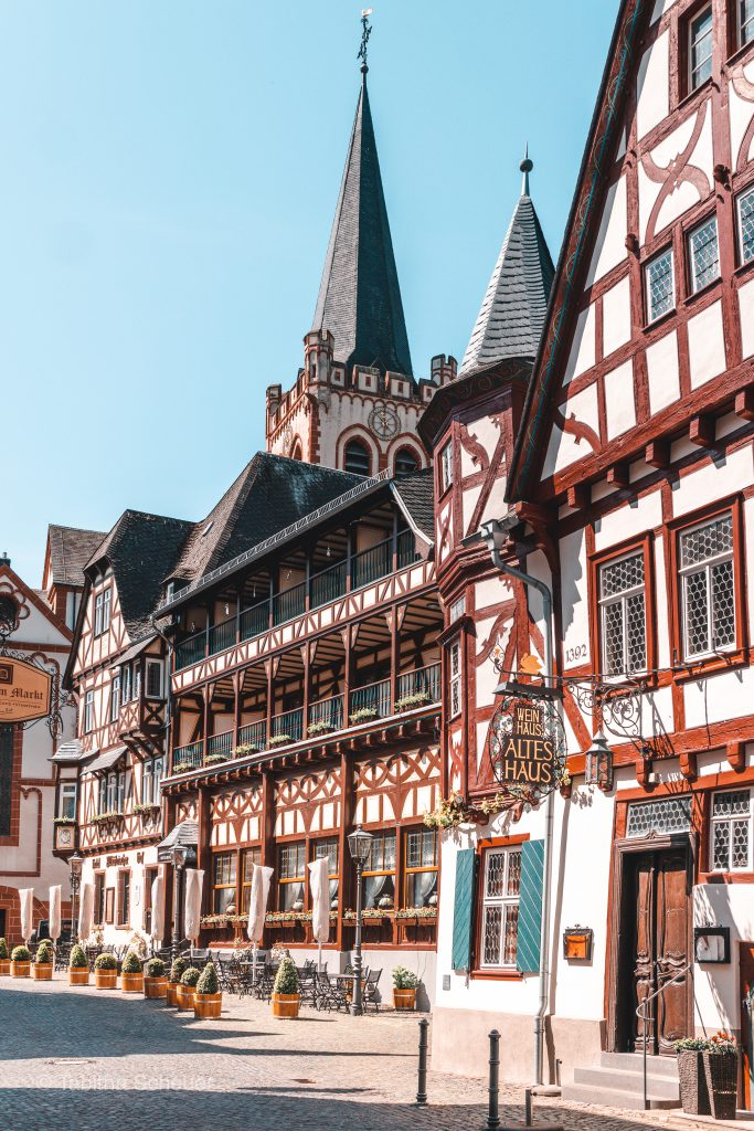 Bacharach Half-Timbered Houses in the Town Centre