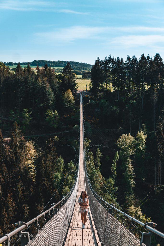 Best Things To Do In Germanys Rhineland Palatinate | Deutschlands Sehenswürdigkeiten in der Pfalz | Hängeseilbrücke Geierlay