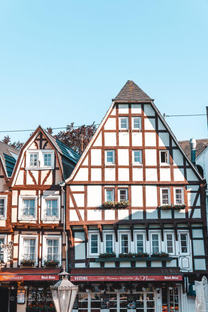 Fachwerkhäuser in Linz am Rhein