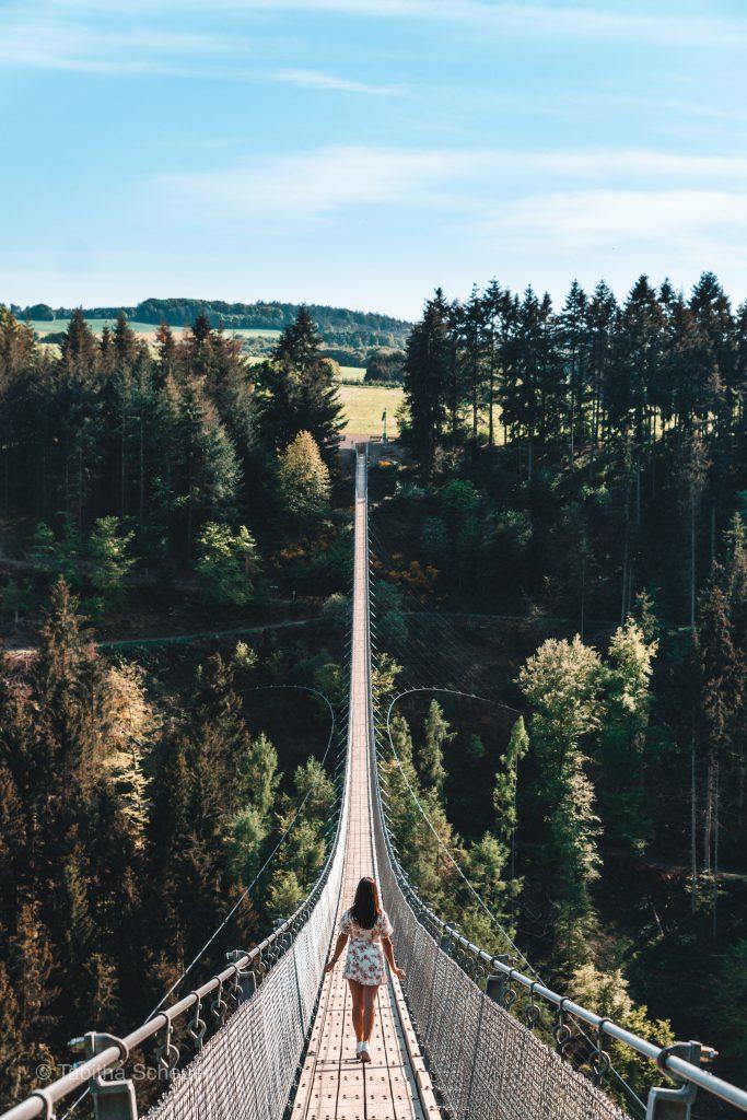 Geierlay Brücke in Deutschland | Tipps für den Besuch der Geierlay Hängeseilbrücke in Deutschland