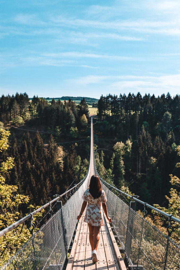 Geierlay Bridge in Germany |Hängeseilbrücke Geierlay |Tipps für einen Besuch zur Hängeseilbrücke Geierlay in Deutschland
