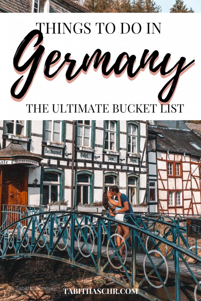 Germany Bucket List