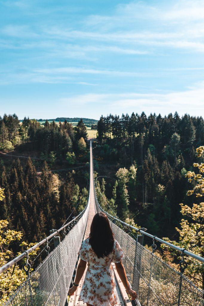 Hängeseilbrücke Geierlay |Suspension rope bridge Geierlay