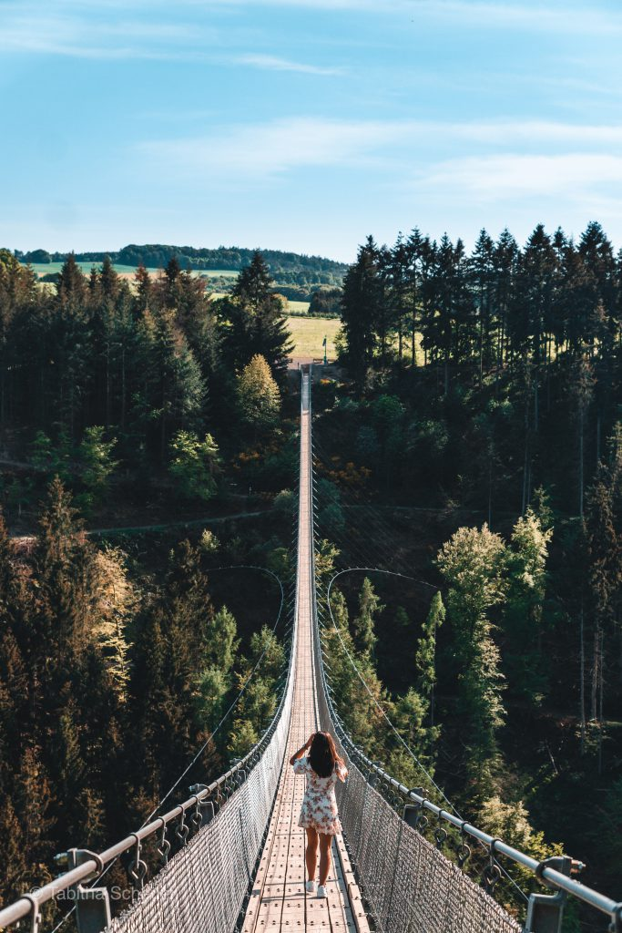 How to visit Geierlay in Germany |Germanys largest suspension rope bridge | Deutschlands längste Hängeseilbrücke | Deutschlands Sehenswürdigkeiten