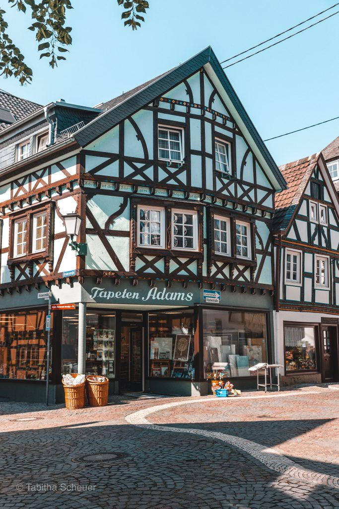 Linz am Rhein |Half-timbered houses