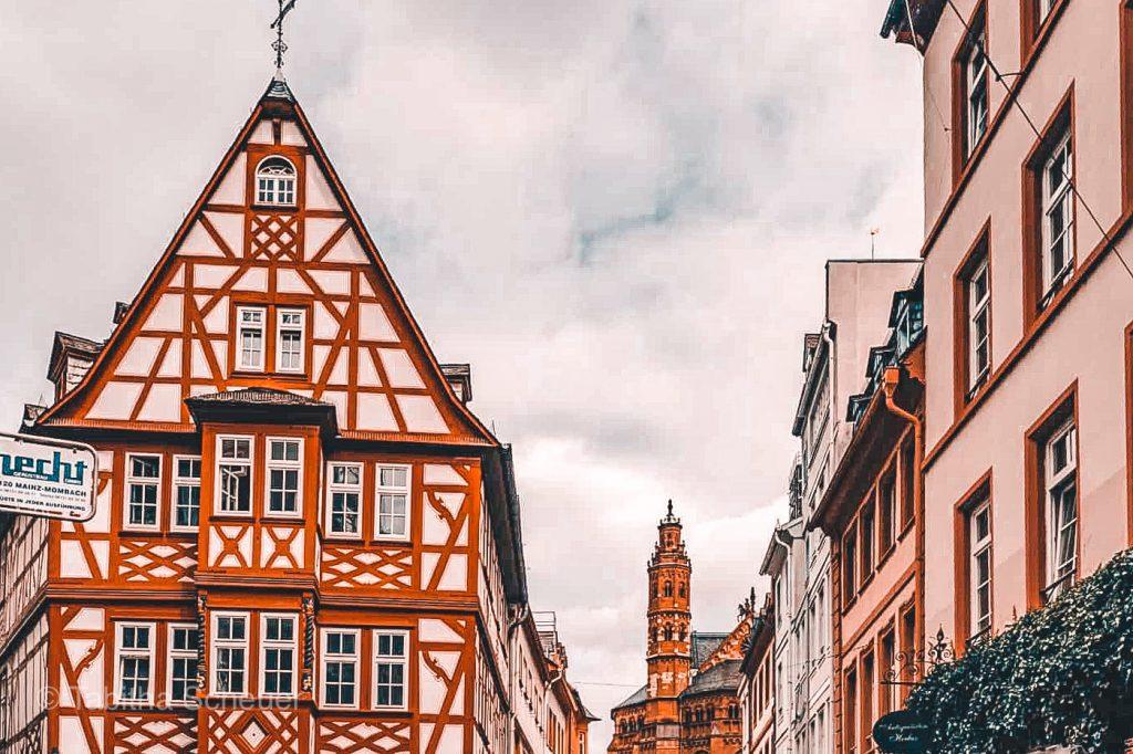 Mainz half-timbered houses |Mainz Sehenswürdigkeiten |Mainzer Altstadt