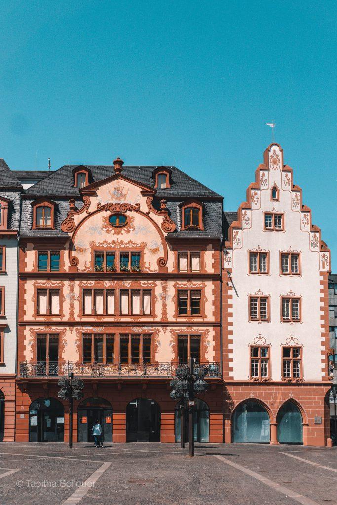 Mainzer Innenstadt | Süße Gebäude in Mainz |Beautiful ancient buildings in Mainz