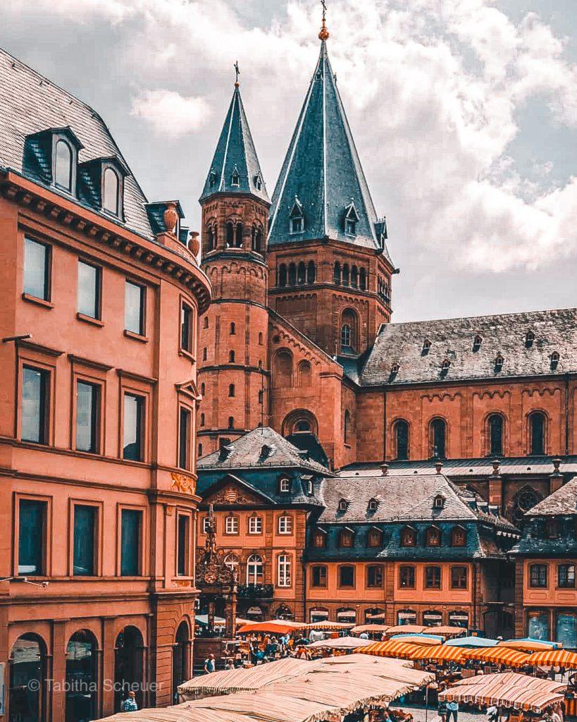 Mainzer Wochenmarkt |Wie du einen Tag in Mainz verbringst |Mainz Travel Tips | What to do and see in Mainz