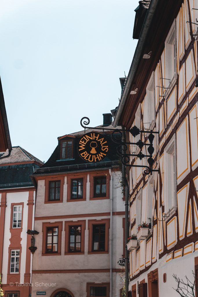 Weinhaus Bluhm in Mainz |Mainz Wine | Where to eat and drink in Mainz