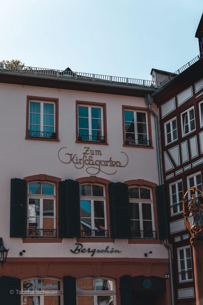 Zum Kirschgarten in Mainz |Restaurant & Café Tipps in Mainz