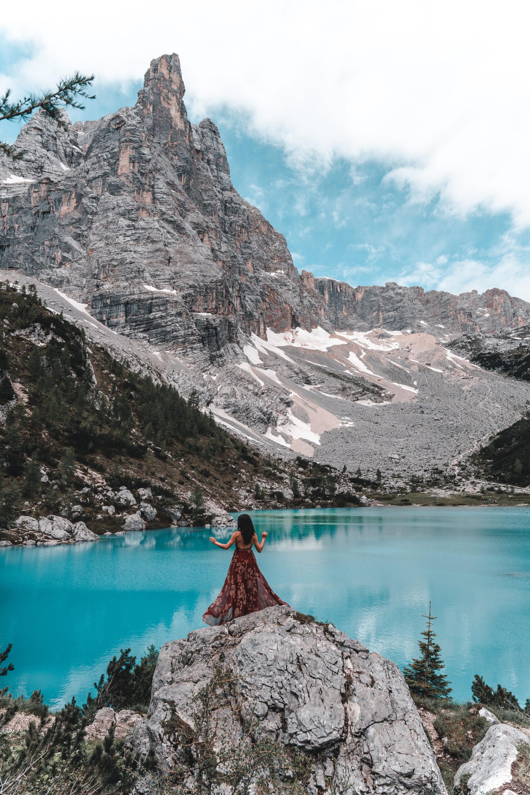 Wandern zum Sorapissee |Lago di Sorapis