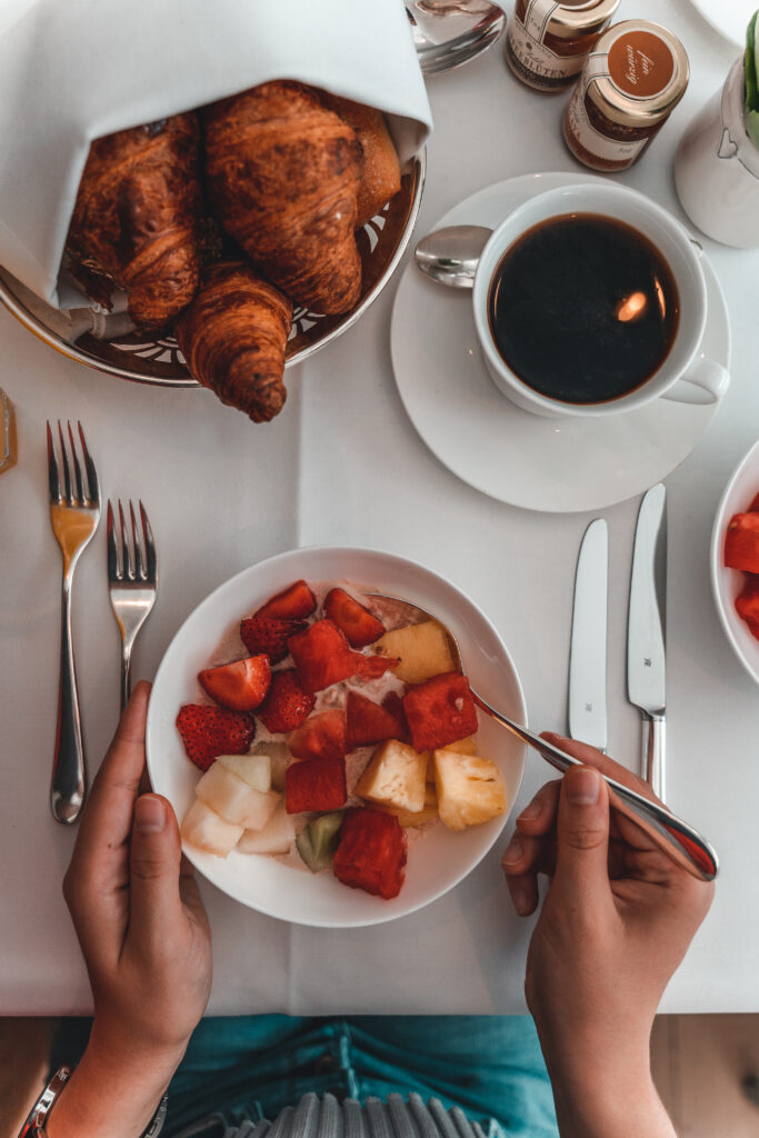 Café Condi Breakfast in Hamburg