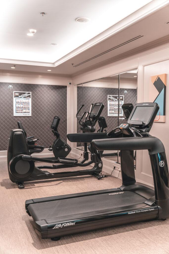 Fitness Area at Four Seasons Prague