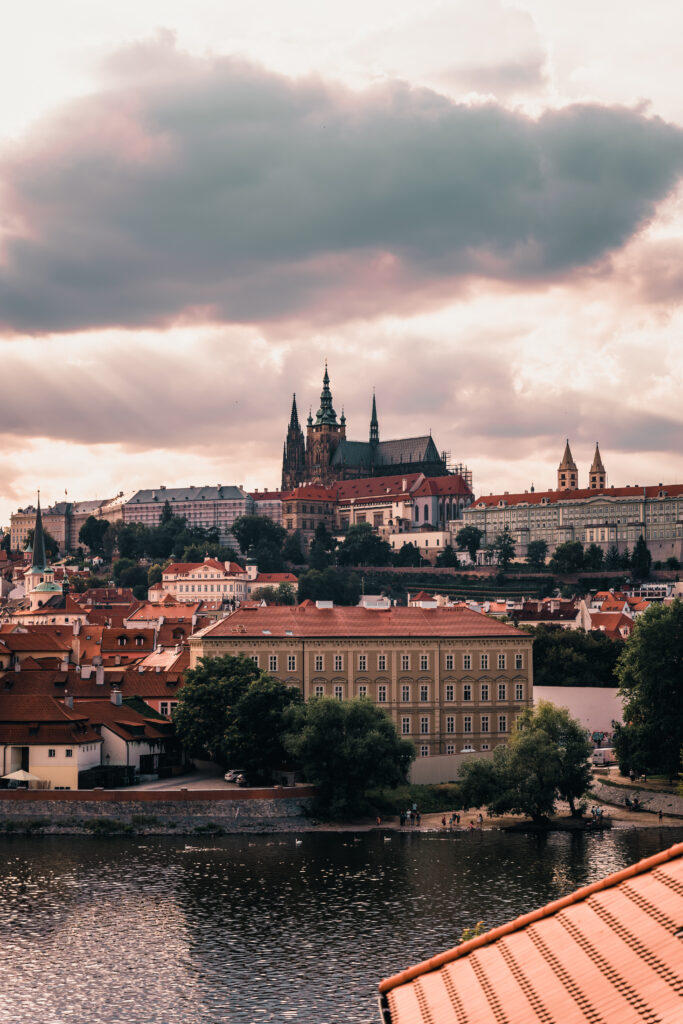 View from River Suite | Four Seasons Prague
