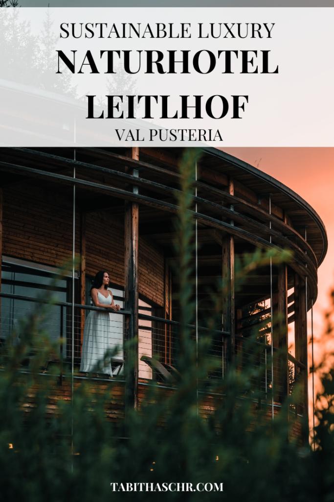 Sustainable Luxury |Naturhotel Leitlhof