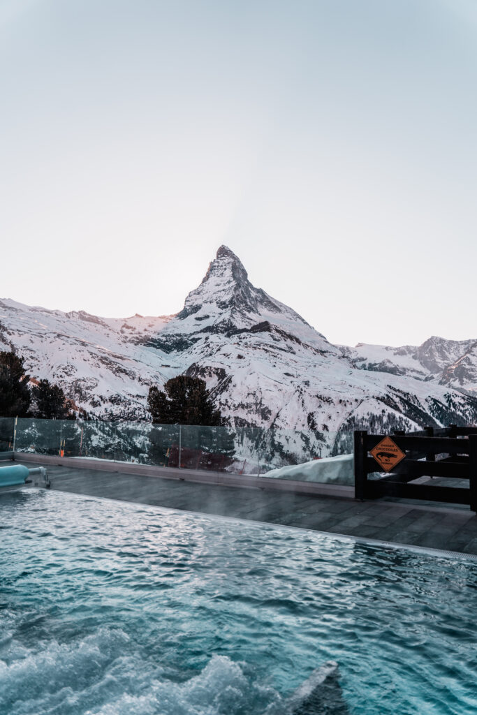 Riffelalp Resort 2222m |Tabitha & Florian - Pool